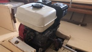 Inboard Installation Mount with universal joint