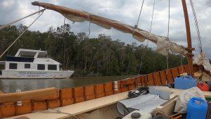 Noosa River houseboat
