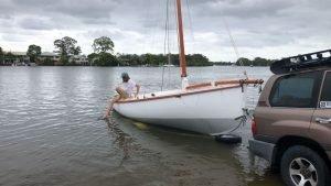Noosa Gaff Rig Couta Boat